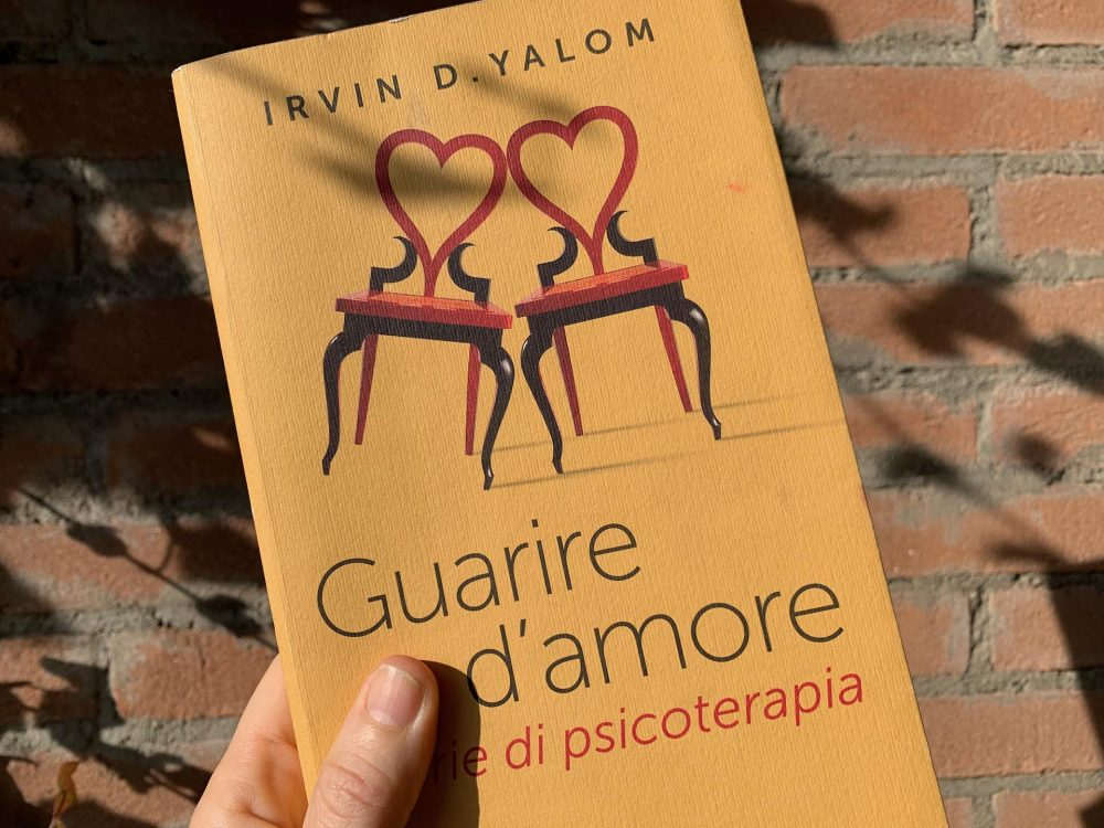 """Guarire d'amore "" Irvin Yalom"