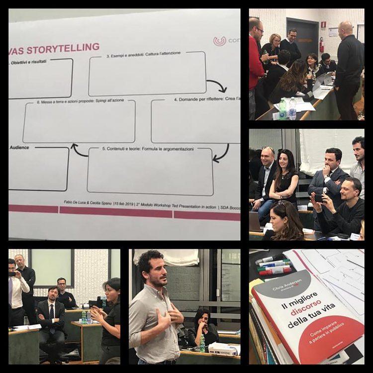 TED Presentation in action - Intelligenza Emotiva per il Public Speaking